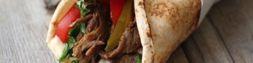 Shawarma sandwiches