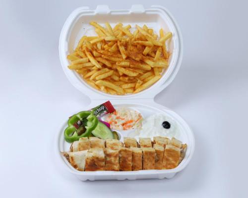 وجبة شاورما عادي