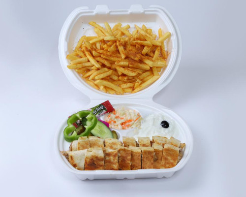 وجبة شاورما دبل