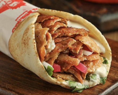 Regular shawarma sandwich