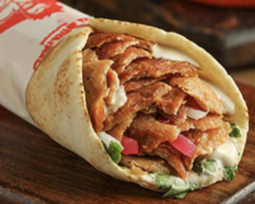 Super Shawarma sandwich