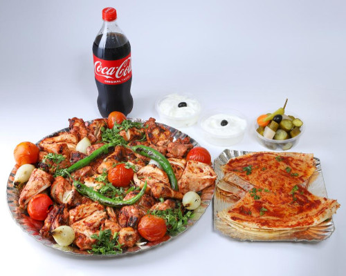 Turkish family meal